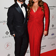 Jay Rutland and Tamara Ecclestone Arrivers at The Global Gift Gala red carpet - Eva Longoria hosts annual fundraiser in aid of Rays Of Sunshine, Eva Longoria Foundation and Global Gift Foundation on 2 November 2018 at The Rosewood Hotel, London, UK. Credit: Picture Capital
