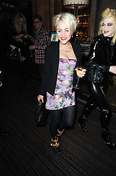 JAIME WINSTONE at a party to celebrate the 135th anniversary of The Criterion restaurant, Piccadilly, London held on 2nd February 2010.