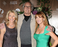February 20, 2019 - Beverly Hills, CA, USA - LOS ANGELES - FEB 20:  Jayni Luke, Chevy Chase, Jane Seymour at the Global Green 2019 Pre-Oscar Gala at the Four Seasons Hotel on February 20, 2019 in Beverly Hills, CA (Credit Image: © Kay Blake/ZUMA Wire)