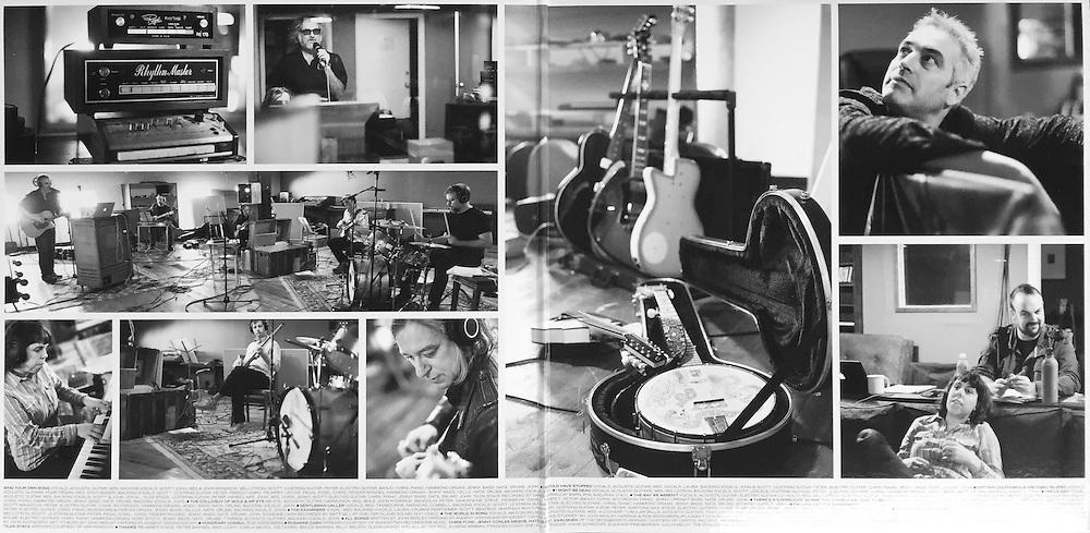 "John Wesley Harding, ""The Sound of His Own Voice"" album gatefold photos"