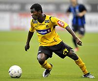 Fotball<br /> 22 januar 2010<br /> Tippeligaen<br /> Treningskamp<br /> Stabæk - Moss<br /> Amadou Ouattara , Moss<br /> Foto : Reidar Talset , Digitalsport
