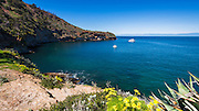 Pelican Bay, Santa Cruz Island, Channel Islands National Park, California USA