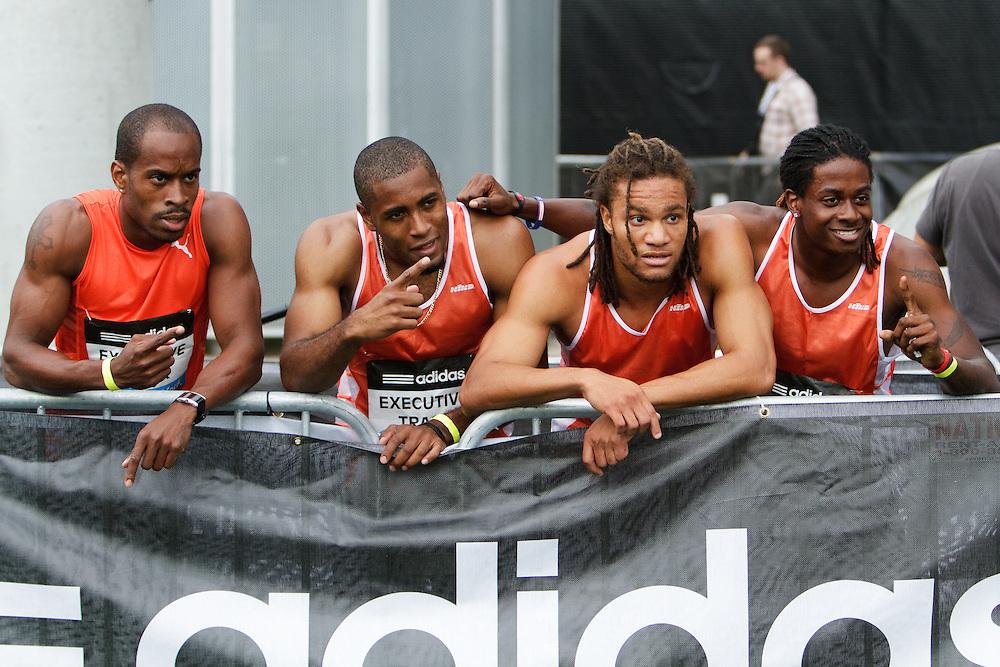 Samsung Diamond League adidas Grand Prix track & field; 4x400 meter relay Men Metro, winners, Executive TC