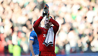 Football - 2016 / 2017 Scottish League Cup - Semi-Final - Celtic vs. Rangers<br /> <br /> Matt Gilks of Rangers during the match at Hampden Park.<br /> <br /> COLORSPORT/LYNNE CAMERON