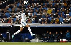 December 6, 2017 - Madrid, Spain - Varane of Real Madrid before he was injured during the UEFA Champions League group H match between Real Madrid and Borussia Dortmund at Santiago Bernabéu. (Credit Image: © Manu_reino/SOPA via ZUMA Wire)
