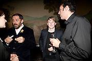 ENRICO DAVID; ROGER HIORNS; RICHARD WRIGHT, Turner prize 2009. Tate Britain. Millbank. London. 7 December 2009