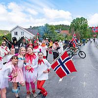 Publikum under Tour of Norway sykkelritt etappe 2: Lyngdal - Kristiansand.