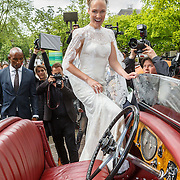 NLD/Amsterdam/20150620 - Huwelijk Kimberly Klaver en Bas Schothorst,