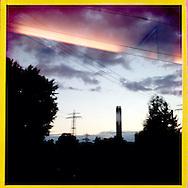 Hamburg Homage Serie 2015. C-Print auf eine MDF-Platte mit einer Stärke von 5 mm gebracht und mit einer besonderen Schicht aus Wachs versiegelt.<br /> Format: 20 cm x 20 cm. 30 cm x 30 cm. 60 cm x 60 cm.<br /> Open Edition 2015. ©Nero Pécora