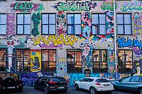Géorgie, Tbilissi, quartier de Chugureti, La Fabrika est un centre culturel multifonctionnel alternatif installé dans une ancienne usine de couture soviétique // Georgia, Caucasus, Tbilisi, old city, Chugureti disrtict, The Fabrika, cultural center in old sewing factory