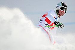 19.01.2013, Lauberhornabfahrt, Wengen, SUI, FIS Weltcup Ski Alpin, Abfahrt, Herren, im Bild Hannes Reichelt (AUT) // reacts after his run of mens downhillrace of FIS Ski Alpine World Cup at the Lauberhorn downhill course, Wengen, Switzerland on 2013/01/19. EXPA Pictures © 2013, PhotoCredit: EXPA/ Freshfocus/ Urs Lindt..***** ATTENTION - for AUT, SLO, CRO, SRB, BIH only *****