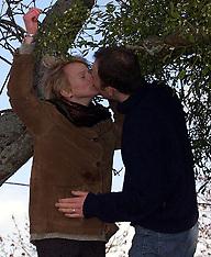 Mistletoe couple 2000