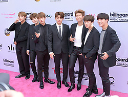 May 21, 2017 - Las Vegas, Nevada, United States of America - South Korean Boy Band BTS attend the 2017 Billboard Music Awards on May 21, 2017 at  T-Mobile Arena in Las Vegas, Nevada. (Credit Image: © Marcel Thomas via ZUMA Wire)