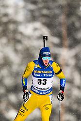 March 9, 2019 - –Stersund, Sweden - 190309 Sebastian Samuelsson of Sweden competes in the Men's 10 KM sprint during the IBU World Championships Biathlon on March 9, 2019 in Östersund..Photo: Petter Arvidson / BILDBYRÃ…N / kod PA / 92252 (Credit Image: © Petter Arvidson/Bildbyran via ZUMA Press)