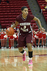 03 March 2013:  Desiree Phillips during an NCAA Missouri Valley Conference (MVC) women's basketball game between the Missouri State Bears and the Illinois Sate Redbirds at Redbird Arena in Normal IL
