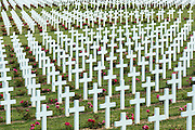 Cemetery of Douaumont at the ossuary, Ossuaire de Douaumont, at Fleury-devant-Douaumont near Verdun, France