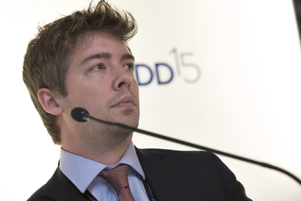 03 June 2015 - Belgium - Brussels - European Development Days - EDD - Inclusion - Banks can serve the bottom billions and create greater economic equality - Mattew Wilson , Assistant Vice President - Barclays © European Union