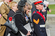 The congregation with orders of srvice head to the Guildhall. A memorial service, fly and march past for all the forces who fought in Afghanistan is attended by the Royal Family. St Paul's Cathedral, London, UK 13 Mar 2015