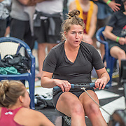 Kayla Pratt Female Relays Race #24  03:00pm <br /> <br /> www.rowingcelebration.com Competing on Concept 2 ergometers at the 2018 NZ Indoor Rowing Championships. Avanti Drome, Cambridge,  Saturday 24 November 2018 © Copyright photo Steve McArthur / @RowingCelebration