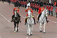 LONDON - JUNE 05: Major General, George Norton, The Queen's Diamond Jubilee, The Mall, London, UK. June 05, 2012. (Photo by Richard Goldschmidt)