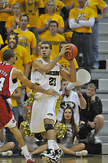 Missouri vs Nebraska Basketball, Jan 23, 2010