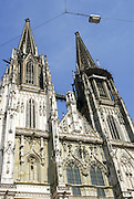 St. Peter's Church - the Regensburg Cathedral, Bavaria, Germany