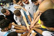Futsal: 1. Bundesliga, HSV-Panthers - Stuttgart Futsal Club, Hamburg, 11.09.2021<br /> Feature, Teamwork<br /> © Torsten Helmke