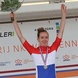 22-08-2020: Wielrennen: NK vrouwen: Drijber<br /> Anna van der Breggen. Nederlands Kampioen