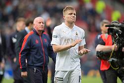 Falkirk's Peter Grant at the end. Falkirk 1 v 2 Inverness CT, Scottish Cup final at Hampden.