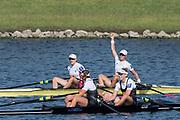 Sarasota. Florida  USA USA W2X. Bow. Meghan O'LEARY and Ellen TOMEK. Silver Medalist. Sunday Final's Day at the  2017 World Rowing Championships, Nathan Benderson Park<br /> <br /> Sunday  01.10.17   <br /> <br /> [Mandatory Credit. Peter SPURRIER/Intersport Images].<br /> <br /> <br /> NIKON CORPORATION -  NIKON D500  lens  VR 500mm f/4G IF-ED mm. 200 ISO 1/1000/sec. f 7.1