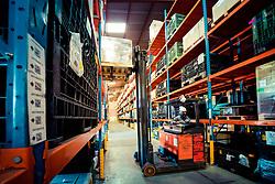Pátio da empresa Multi Armazéns, em Novo Hamburgo. FOTO: Jefferson Bernardes/ Agência Preview