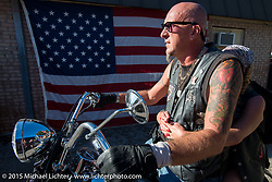 Chopper Time Old School Bike Show at Willy's Tropical Tattoo during the Biketoberfest Rally. Ormond Beach, FL, USA. October 15, 2015.  Photography ©2015 Michael Lichter.