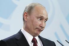 Vladimir Putin in Berlin 1-6-12