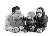 Family portrait in studio - Sheffield, South Yorkshire