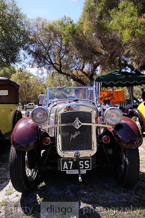 Austin Seven.<br /> 2011 Classic Car Show, Whiteman Park, Perth, Western Australia. March 20, 2011