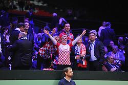 November 23, 2018 - Lille, France - Finale Coupe Davis 2018 - Madame la Presidente de la Republique Croatie (Credit Image: © Panoramic via ZUMA Press)