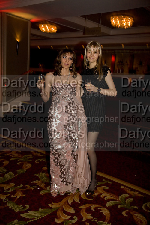 Neely Mackenzie and Daria Lazukina, Russian Rhapsody. Gala dinner and concert. the Great Room, Grosvenor House. London. 21 April 2008. *** Local Caption *** -DO NOT ARCHIVE-© Copyright Photograph by Dafydd Jones. 248 Clapham Rd. London SW9 0PZ. Tel 0207 820 0771. www.dafjones.com.