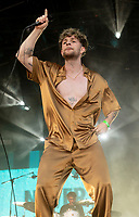 TOM GRENNAN at the Big Feastival 2021 on Alex James Cotswolds farm, Kingham oxfordshire