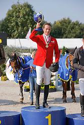 Brocks Karel (GER) - Lamarque 7<br /> Winner Final 6 years old horses<br /> World Championship Young Horses Lanaken 2009<br /> © Hippo Foto - Dirk Caremans