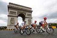 Pierre Latour (FRA - AG2R - La Mondiale) white jersey, Arc de Triomphe during the 105th Tour de France 2018, Stage 21, Houilles - Paris Champs-Elysees (115 km) on July 29th, 2018 - Photo Luca Bettini / BettiniPhoto / ProSportsImages / DPPI