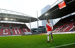 08-11-2009 VOETBAL: FC UTRECHT - HEERENVEEN: UTRECHT<br /> Utrecht verliest met 3-2 van Heerenveen / Ricky van Wolfswinkel en stadion Nieuw Galgenwaard<br /> ©2009-WWW.FOTOHOOGENDOORN.NL
