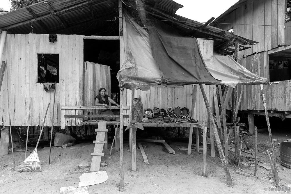 Poblado Wounaan, Valle del Cauca, Colombia, América