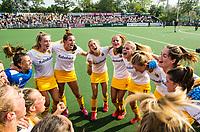 AMSTELVEEN -  Vreugde De Bosch   na  de finale van de play-offs om de landtitel in het Wagenerstadion, tussen Amsterdam en Den Bosch (1-4).   COPYRIGHT KOEN SUYK