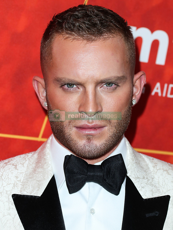 BEVERLY HILLS, LOS ANGELES, CA, USA - OCTOBER 18: amfAR Gala Los Angeles 2018 held at the Wallis Annenberg Center for the Performing Arts on October 18, 2018 in Beverly Hills, Los Angeles, California, United States. 18 Oct 2018 Pictured: August Getty. Photo credit: Xavier Collin/Image Press Agency/MEGA TheMegaAgency.com +1 888 505 6342