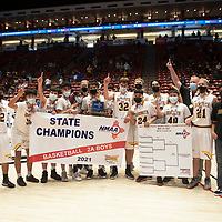 The Rehoboth Lynx defeated the Jal Panthers 55-50 to become New Mexico Class 2A boys basketball state champions Friday in Albuquerque.