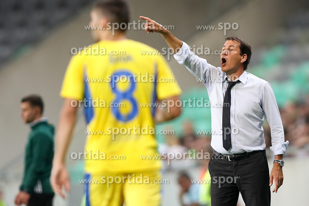 Rudi Garcia, head coach of Olympic Marseille during football match between NK Domzale and Olympique de Marseille in First game of UEFA Europa League playoff round, on August 17, 2017 in SRC Stozice, Ljubljana, Slovenia. Photo by Morgan Kristan / Sportida