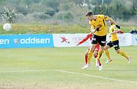Fotball , 19. februar 2015 ,  privatkamp  <br /> Brann - Start<br /> Mattias Vilhjalmsson , Start scoret 3 mål i første omgang