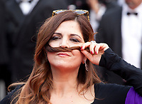 Agnes Jaoui  at L'amant Double gala screening at the 70th Cannes Film Festival Friday 26th May 2017, Cannes, France. Photo credit: Doreen Kennedy