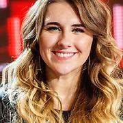 NLD/Hilversum/20160109 - 4de live uitzending The Voice of Holland 2015, Melissa Jansen