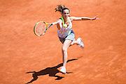 Paris, France. Roland Garros. June 2nd 2013.<br /> Italian player Roberta VINCI against Serena WILLIAMS